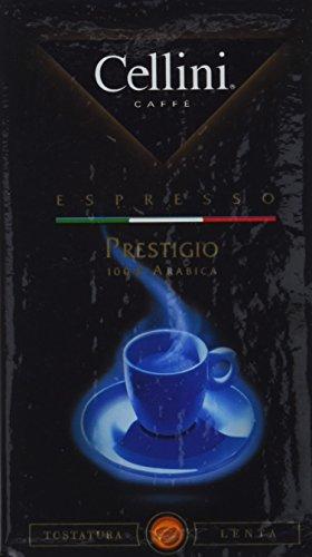 Cellini Prestigio 100% Arabica gemahlen, 250 g, 5er Pack (5 x 250 g)