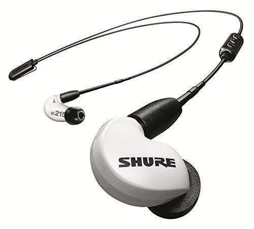 Shure SE215 Bluetooth 5.0 In Ear Kopfhörer mit Sound Isolating Technologie und Mikrofon für iPhone & Android - Premium Kabellos Ohrhörer mit warmem & detailreichem Klang - Special Edition Weiß thumbnail