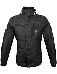 Mens Crosshatch Designer Winter Jacket