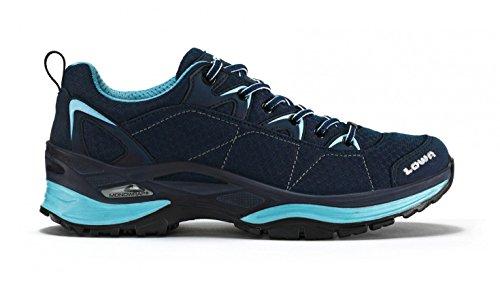 Lowa Ferrox GTX Ladies chaussure multifoncitonnelle pour l'exterieur - spécial pour les dames. Avec réconfort solid et poids moins - - navy/eisblau