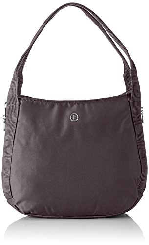 Bogner Leather JENNA 0043936 Damen Schultertaschen 28x26x9 cm (B x H x T) Grau (excalibur 350)