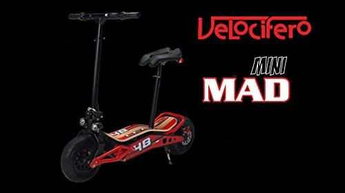 Velocifero Mini Mad 800W 36V de litio eléctrico Scooter