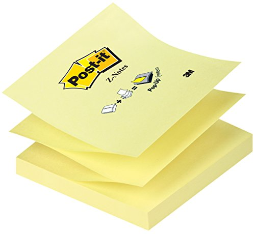 Post-it R330 Z-Notes 12 Blöcke a 100 Blatt, gelb (76 x 76 mm)