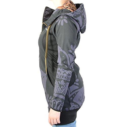 Sweatshirthirt Desigual 67E2SB1 Negro 2000 Noir