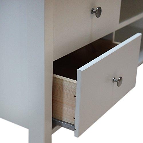 Steens Furniture 3257100050000F TV Tisch 47,5 kg, weiß - 2