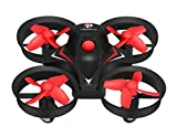 #1: Makibes Redpawz R010 Mini Rc Quadcopter 4Ch 2.4G 6-Axis 3D Flips And Rolls - Black