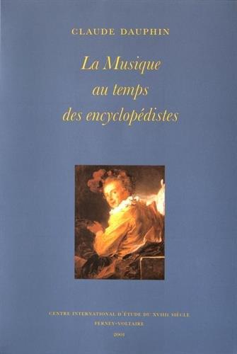 La musique au temps des encyclopédistes
