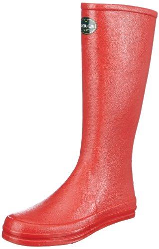 NOIR Donna Rot 0348 Cabourg ROUGE Chameau Rosso Stivali Le vOSW0pTn
