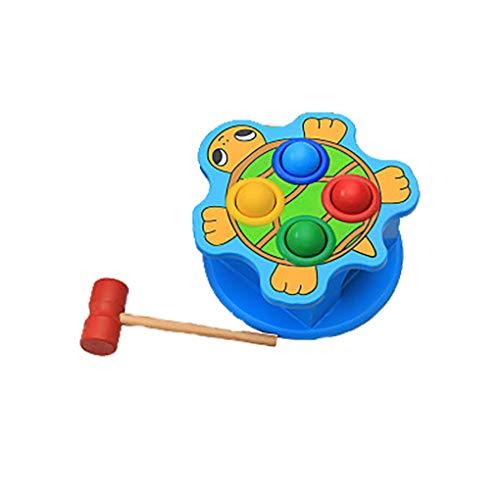 Topker Bunte aus Holz für Kinder Ramm Tabelle Spielzeug Intelligente Knocking Tabelle Holzspielzeug Lernen & Early Education Puzzle Spielzeug