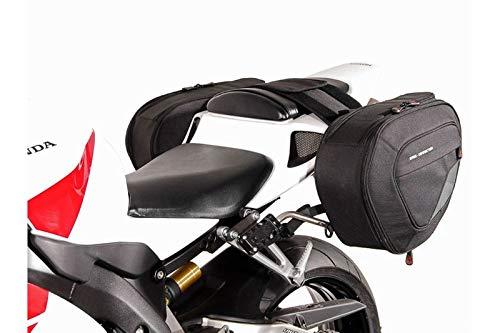 SW-MOTECH BLAZE H Satteltaschen-Set, Schwarz/Grau für Honda CBR1000RR Fireblade (04-07) -