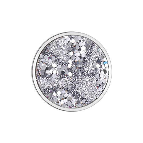 U&D Damen Schmuck Coins Small 25mm Coin Silber fur Coin Kette