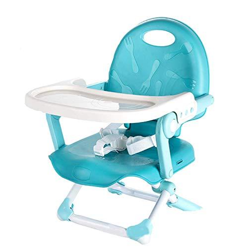 GKPLY Einfacher Klappstuhl, Verstellbarer Baby Hochstuhl Baby Säuglingsfütterungssitzklappsitz,...