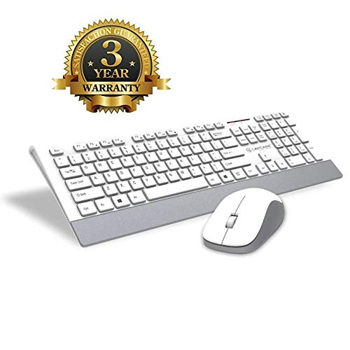 E - Royal Shop® Latest 100% Original Lapcare Slim Stylisboard Wireless Multimedia Keyboard for PC Combo Offer