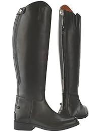 Saxon Equileather Ladies Dress Boot 6 Regular by Saxon