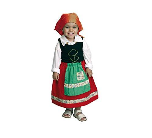 Imagen de disfraz de niña pastora 1 2 años para navidad