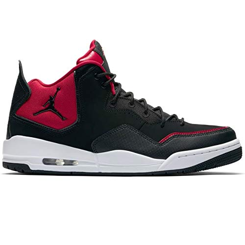 info for ffe53 21b6b Nike Jordan Courtside 23, Zapatos de Baloncesto para Hombre, Negro Black Gym  Red