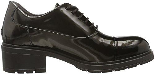 HIP D1043, Chaussures à Lacets Femme Marron - Braun (25CO/Bc)