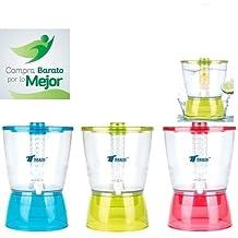 Thulos DISPENSADOR DE LIQUIDOS 6,5 litros Agua INFUSIONES Fruta Desmontable Calidad