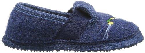 Giesswein Tornow, Chaussons garçon Bleu (527 Jeans)