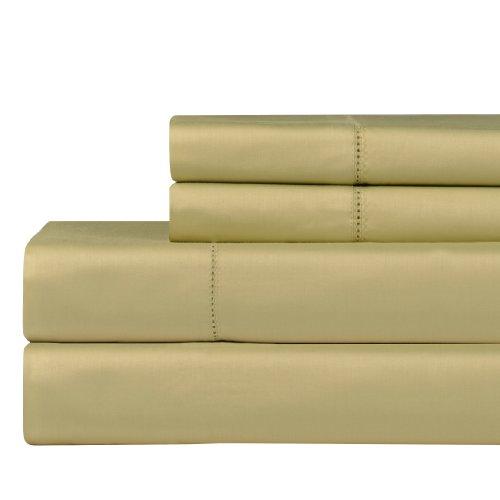 Celeste Home 610Fadenzahl Pima-Baumwolle Kissenbezüge, Standard, pistazie