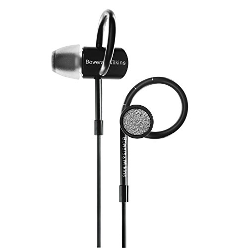 Bowers & Wilkins C5 S2 In-Ear Headphones, Black