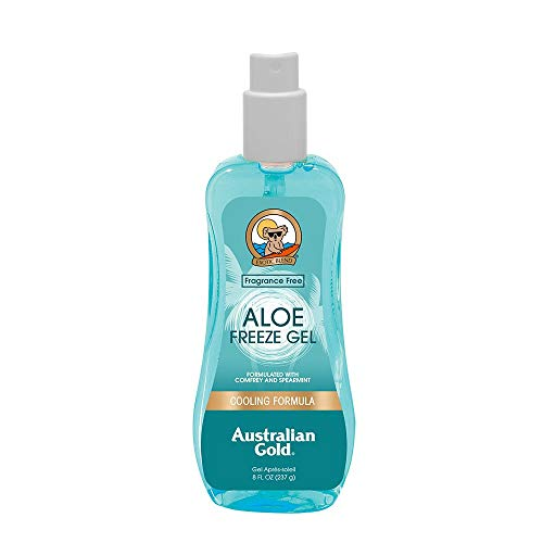 Australian gold - gel spray rinfrescante a base di aloe, 237 ml
