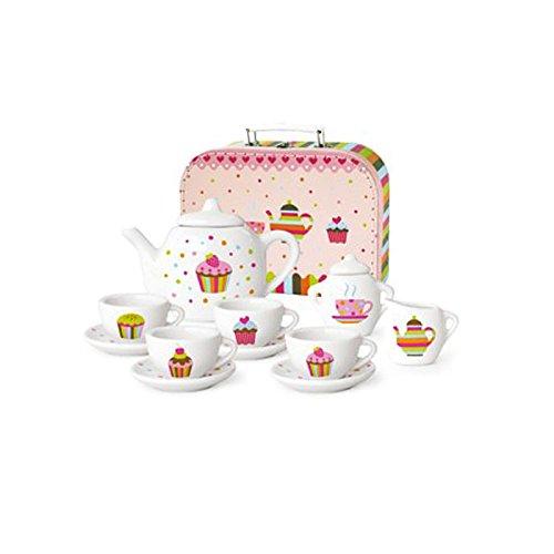 Wendekreis Kindergeschirr-Set 'Cupcakes' 25,3 x 18cm