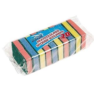 Pack of 20 Sponge Scourer Washing Up Sponges (B000T9E0CQ) | Amazon Products
