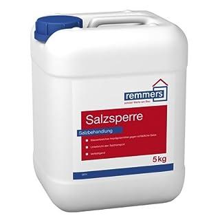 Remmers Salzsperre , Sanierlösung zur Mauersalzverkapselung. 5 Kg