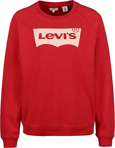Levi\'s  ® Relaxed Graphic Crew W Sweater Brilliant red