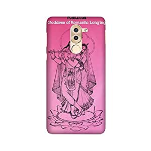 Printrose Huawei Honor 6X designer printed back cover hard plastic case and covers for Huawei Honor 6X