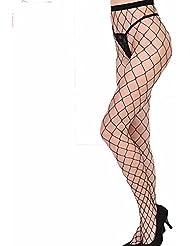 L'oeil de filets filets chaussettes pantalons chaussettes, collants chaussettes web grandes, moyennes mesh