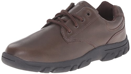 Hush Puppies Chad Uniform Oxford (Toddler/Little Kid/Big Kid), Brown, 11.5 M US Little Kid (Hush Puppies Uniform Schuhe)