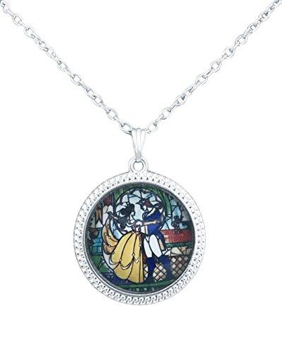 Película joyas BB Belle cristal cabujón colgante declaración joyas romántico regalo perfecto para los Fans de Cosplay