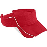 6286 AG YOUTH FORCE VISOR RED/ WHITE OS