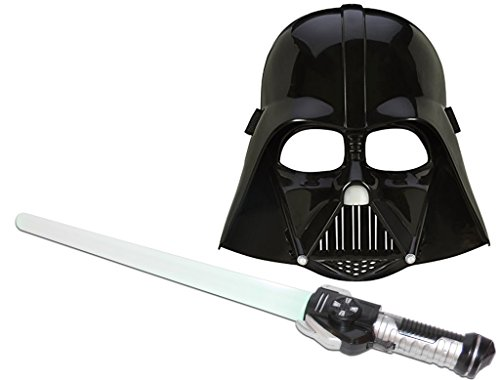 Kostüme Awakens Force Star Wars (KSS Laserschwert (rotem Licht)+ Maske Darth Vader Star Wars The Force Awakens)