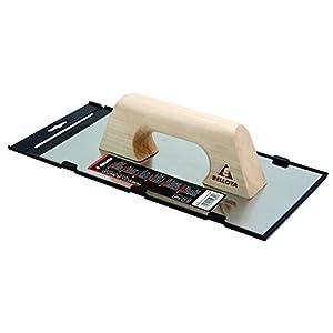Bellota 5861-1 A INOX – Llana recta de acero inoxidable (300x150mm) afilada con mango de madera