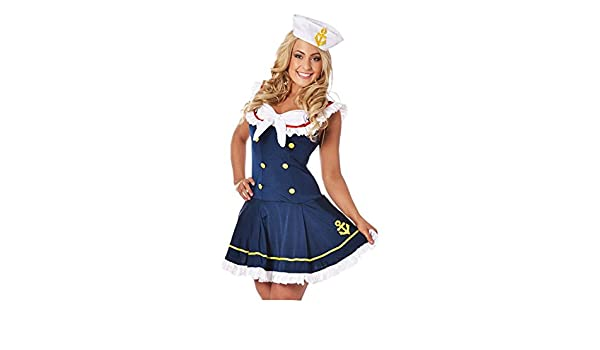 Costumi Da Bagno Pin Up Outlet : Clubcorsets navy sailor girl uniform ladies rockabilly pin up