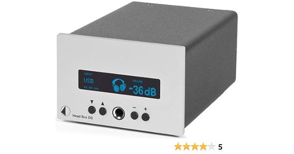 Pro Ject Head Box Ds Headphone Amplifier Silver Elektronik