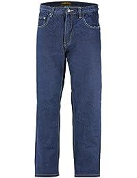 106e8a7e Georgio Peviani Mens Comfort Fit Jeans Classic 5 Pocket Regular Denim  Trousers