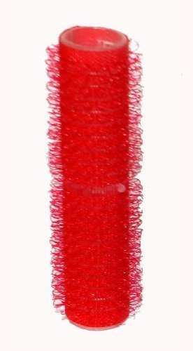 Hair Tools Velcro Cling Hair Rollers - Small Red 13 mm x 12 by Hair Tools
