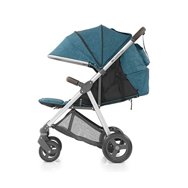 BabyStyle Oyster Zero Pushchair (Regatta) Babystyle Suitable from birth with multi position recline Lightweight only 7.9kg with easy compact fold Extendable hood with small storage pocket 2