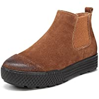 Breve stivali per le donne/Stivali piattaforma telescopica/Martin stivali con piatto