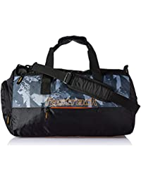Fastrack Polyester 18.5 inches Black Travel Duffle (A0718NBK01)