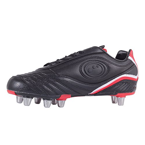 Optimum Inferno 3, Rugby Homme Noir (Black/Red)