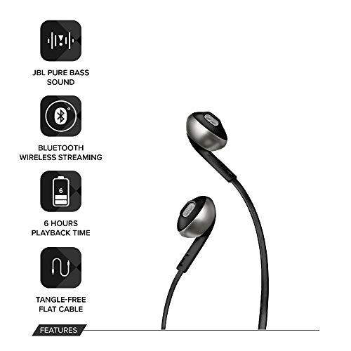 JBL T205BT Pure Bass Wireless Earphone 2