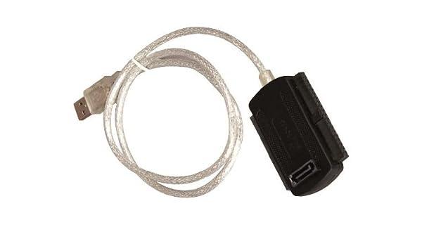 ICY BOX IB-AC603L-U3 C/âble Adaptateur USB 3.0 pour Disque Dur SSD//SATA 2,5 Noir