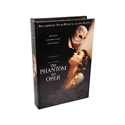 Art Deco Home Libro-Caja Fuerte Fantasma Opera 16x5x24cm