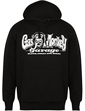 Gas Monkey Garage Zip Hoody Sparkplugs