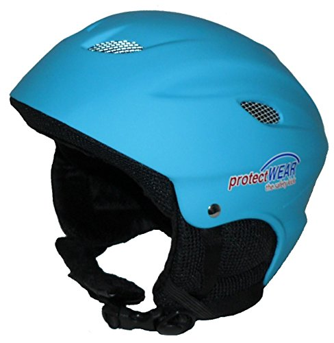 Kinderskihelm VS-631 blau-matt - XS